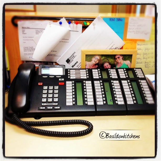 July 9 - phone {my work phone - 10 incoming lines; 48 extensions} #photoaday #phone #work #office