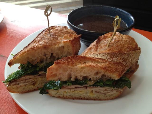 Pork dip sandwich - Percy's & Co.