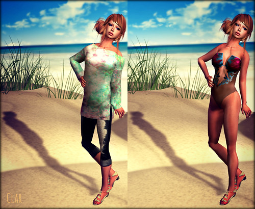 AS Mesh Beach Tunic Pink