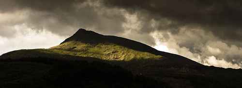 Touched by light - Moel Siabod