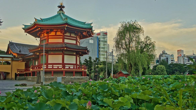 Bentendo Temple at Ueno Park