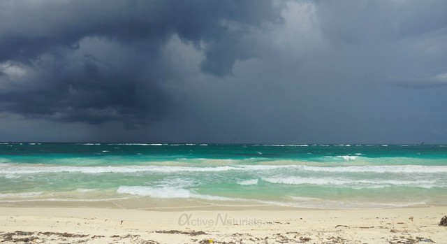naturist  0001 Sian Kaan beach, Quintana Roo, Mexico
