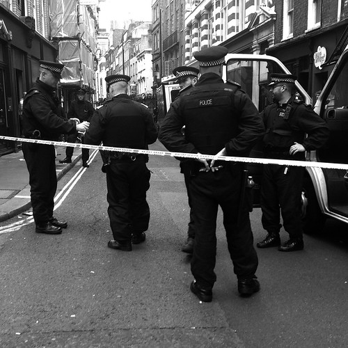 Police line by Darrin Nightingale
