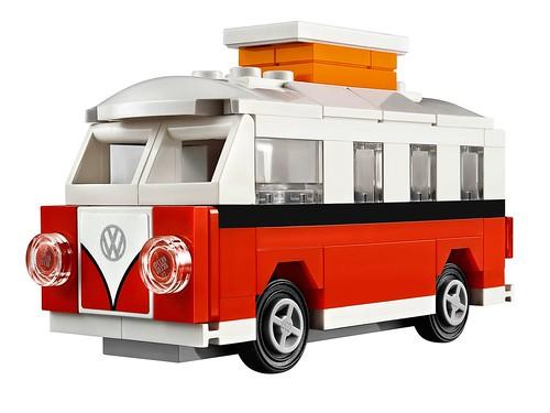 40079 Mini Volkswagen T1 Camper Van