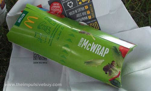 McDonald's Chicken Caesar Premium McWrap Lightsaber Holder