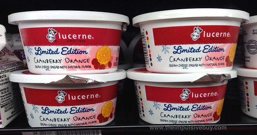 Lucerne Limited Edition Cranberry Orange Cream Cheese