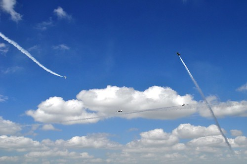 USAF Thunderbirds Arrive at the Punta Gorda Airport in Preparation for the 2014 Florida International Air Show