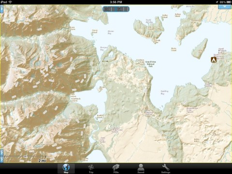 USGS National Map in Gaia GPS