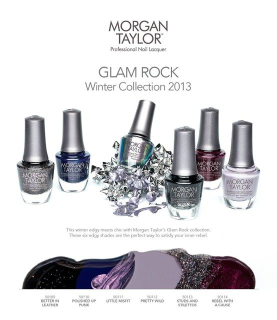 2535 Morgan Taylor Glam Rock Cat Sheet HR