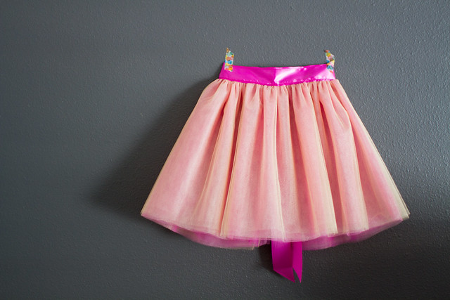 pink and gold tutu