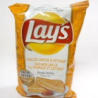 Lay's Canada's Do Us A Flavour Finalist – Grilled Cheese and Ketchup Potato Chips: A Review