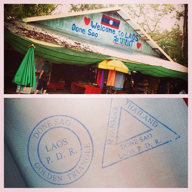 Be in three countries in a day: CHECK! #goldentriangle #laos #myanmar #thailand #travels