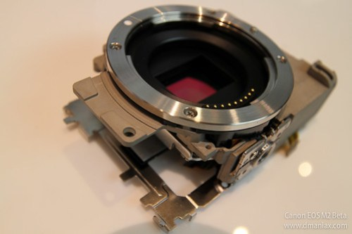 EOS M2 Touch and Try