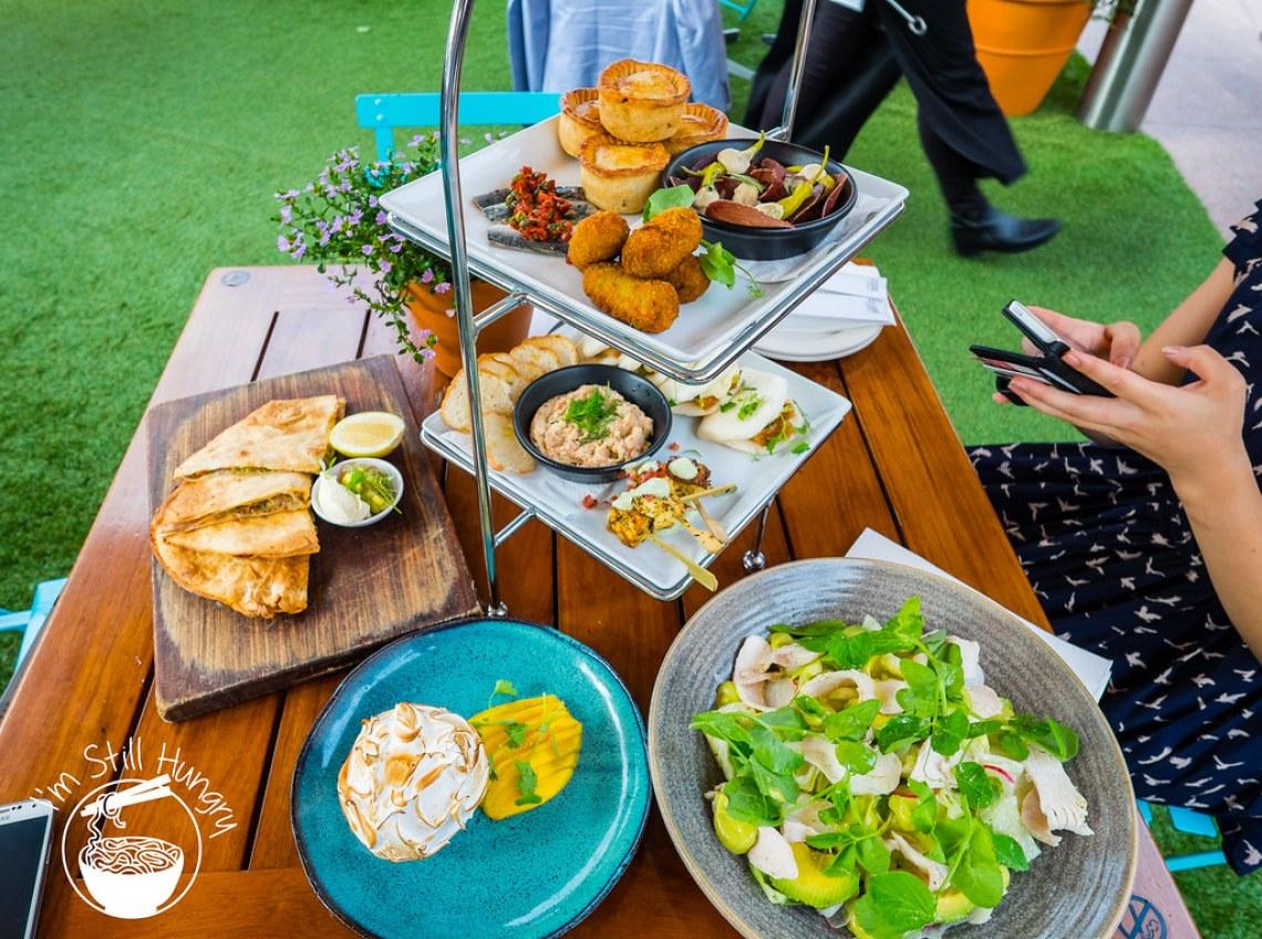 Opera Bar tasting plate food