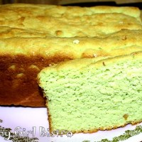 Low Carb Pistachio Pound Cake