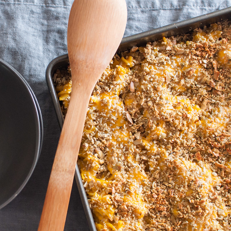 #glutenfree butternut squash mac and cheese--creamy noodle goodness with a healthy twist!