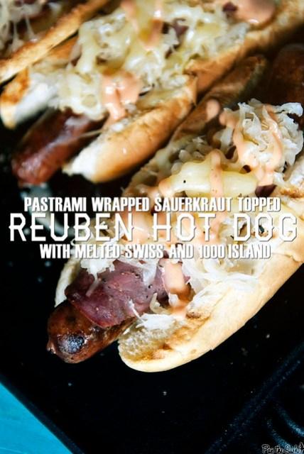 Reuben Hot Dogs {Girl Carnivore}