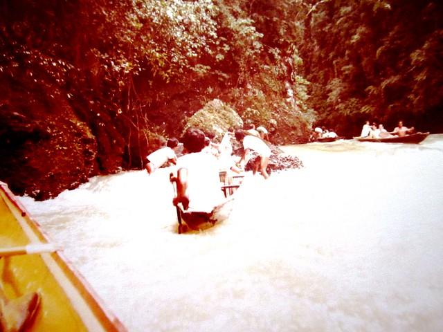 Baguio rapids & waterfalls
