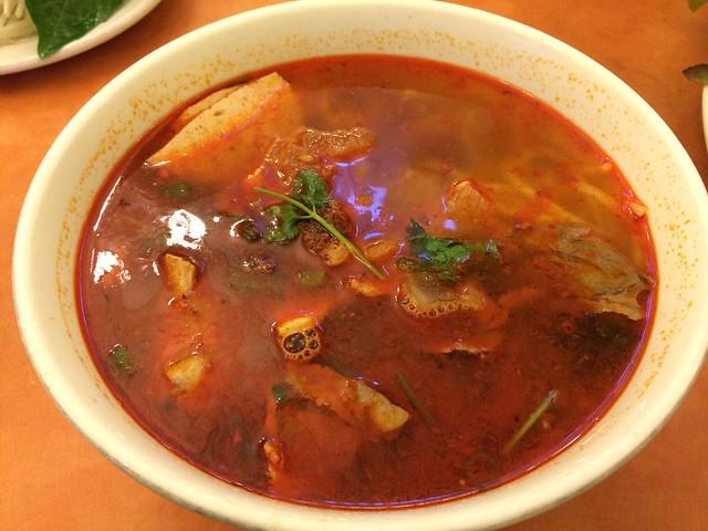 Hue spicy noodle soup - PPQ Beef Noodle House