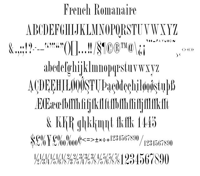 French Romanaire