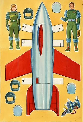 Vintage Space Explorers by roborange