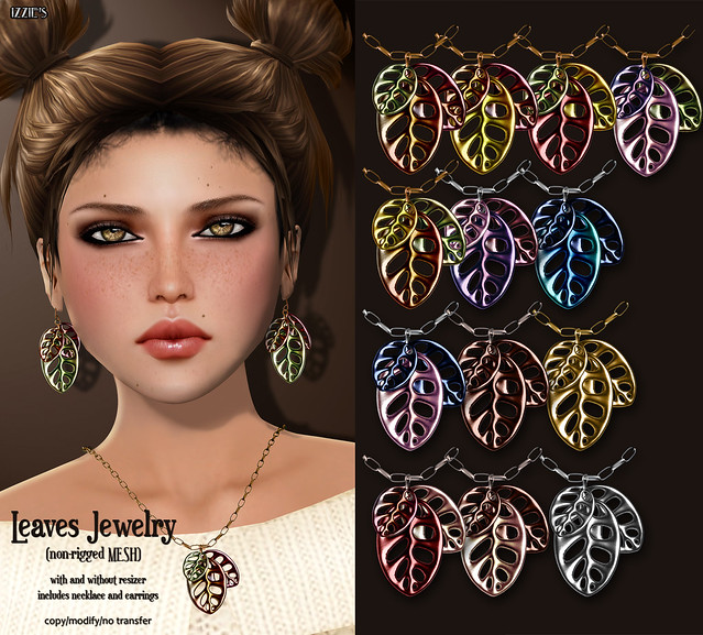 Leaves Jewelry