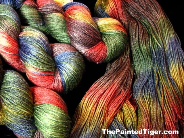 Ancient Tomes - Tiger Club September 2013 - Panda Sock Yarn