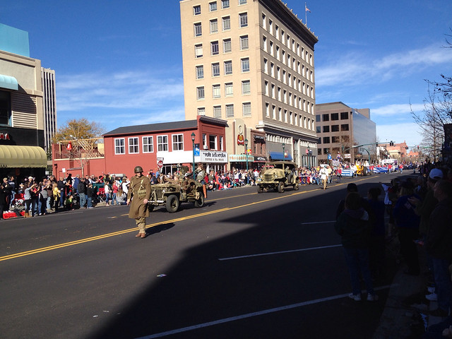 More Restored Army Vehicles In Veteran's Day Parade