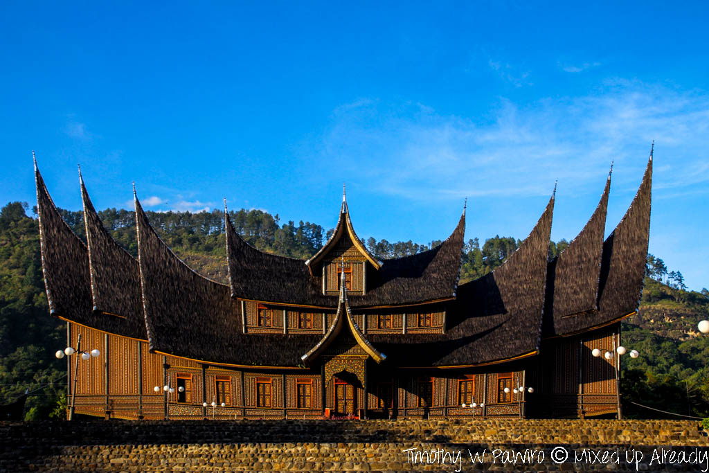 Indonesia - West Sumatra - Istana Pagaruyung - The palace