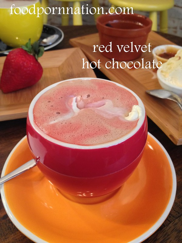 red velvet hot choc