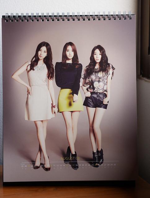 SNSD 2014 Calendar: Seohyun+YoonA+Taeyeon