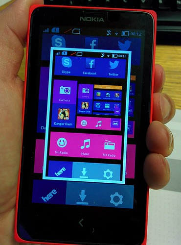 Nokia X How to Take Screenshot