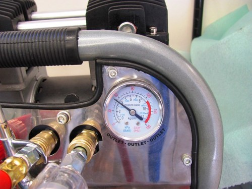 Delivery Pressure Setting on Compressor