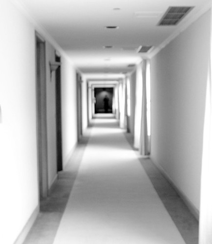 hallway ghost? by ontheraks (slow and getting slower waaa)
