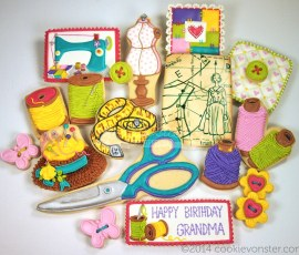 "We love grandma ""sew' much!"