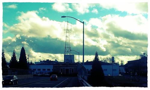 The dramatic skies over Portland. by urbanadventureleaguepdx