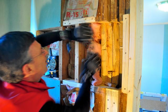 2012-02-12 Bathroom insulation and sheetrock 13