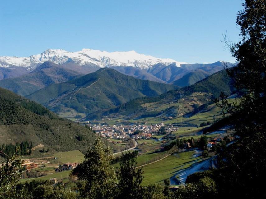 La villa de Potes, en Cantabria. Autor, JLgolis