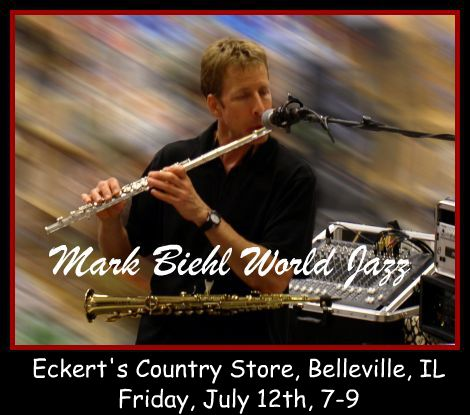 Mark Biehl World Jazz 7-12-13