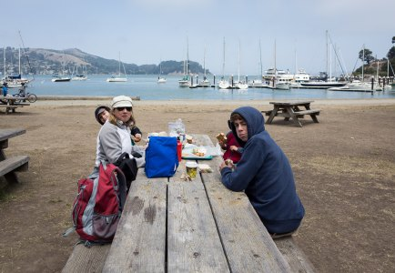 Picnic on Angel Island