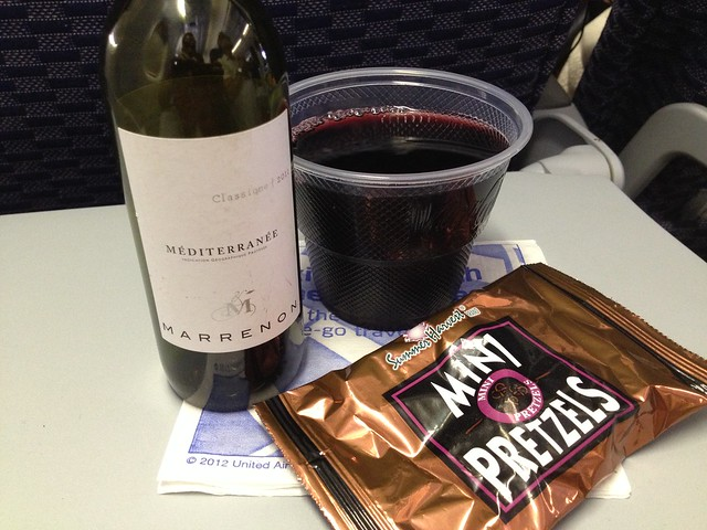 Red wine - United Airlines