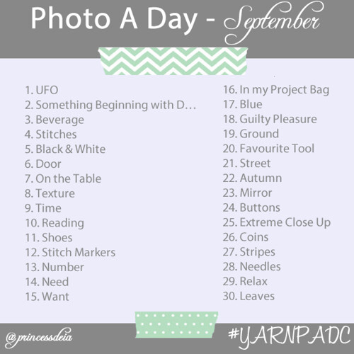 Photo A Day Challenge - Sept