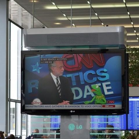 CNNでマペッツ特集してた。Blu-ray出るからかな。