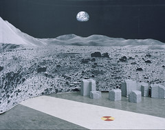 Moonscape photographed by Gregor Sailer