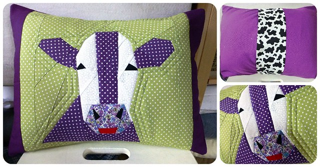 'Shirley the Cow' Cushion