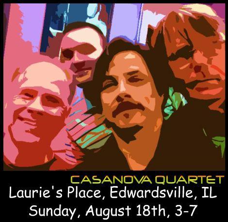 Casanova Quartet 8-18-13