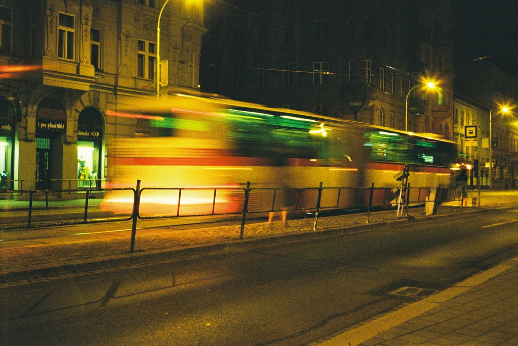 Night Bus (redscale film)