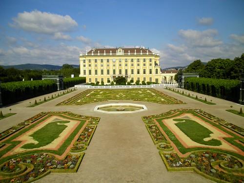 Il castello di Schonbrunn