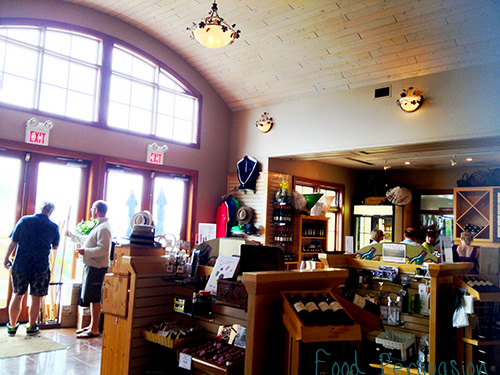 Tasting Room and shop