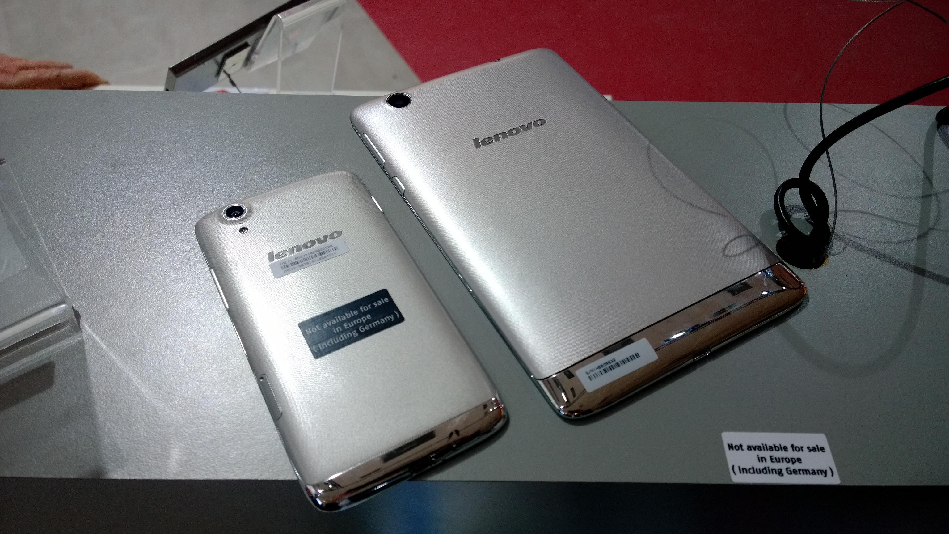 Lenovo Vibe X Y Tablet S5000 Reverso Del Nuevo Smartphone La Nueva En El Booth De Ifa 2013